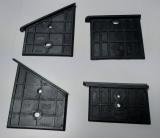 Gleitplatten Set 4 tlg.,3905301014